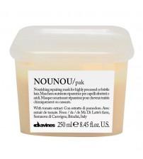 HẤP DẦU NOUNOU PAK (Nounou Hair Mask) DAVINES CHỮA TRỊ TÓC HƯ TỔN 250ML