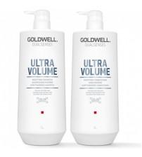 CẶP DẦU GỘI XẢ TĂNG PHỒNG TÓC GOLDWELL DUALSENSE ULTRA VOLUME 1000ML