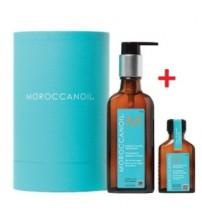 Combo Tinh dầu dưỡng tóc MOROCCANOIL 100ML + 25ML