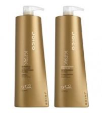 Cặp gội xả phục hồi tóc hư tổn JOICO K-PAK 1000ml X 2