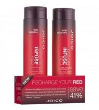 Cặp gội xả JOICO bổ sung sắc tố đỏ cho tóc 300ml x 2