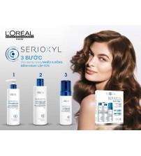COMBO Bộ KIT SERIOXYL Fuller Loreal dầu gội và tinh chất mọc tóc cho mái tóc dày hơn ngay lập tức 250ml