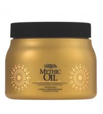 Hấp dầu  LOREAL  Mythic Oil Masque CHÍNH HÃNG dành cho tóc khô xơ hư tổn 500ml