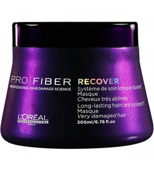 Dầu hấp  LOREAL  Pro Fiber Reconstruct Masque 200ml phục hồi tóc cấp độ 3