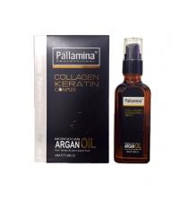 Tinh dầu dưỡng tóc Pallamia Argan Hair Oil Collagen & Keratin Italy 60ml
